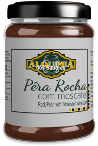 Doce de Pêra Rocha e Moscatel
