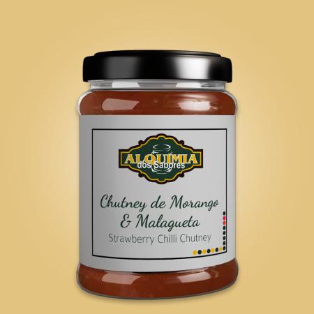 Chutney de Morango e Malagueta
