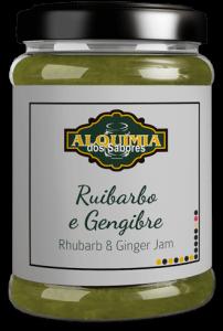 Doce de Ruibarbo e Gengibre